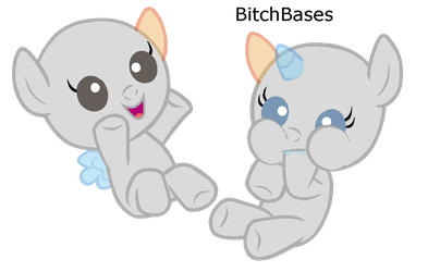 B: The babies that dont look like demons from hell by KIngBases