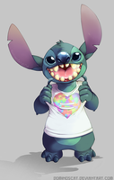 [Speedpaint] Stitch Day 2015 (SHIRTS!) by Dominos-Cat