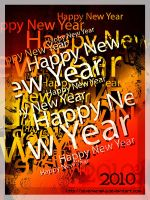 Happy New Year 2010 by sevengraphs