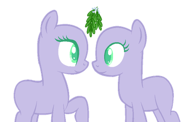 Mistletoe Mlp base by EquineBases