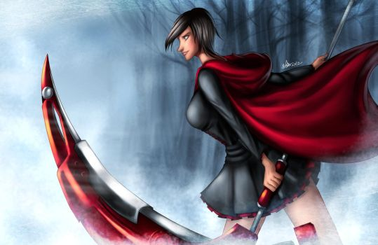 Ruby Rose by Beverii