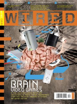 Wired Magazine Cover by caribbeankid