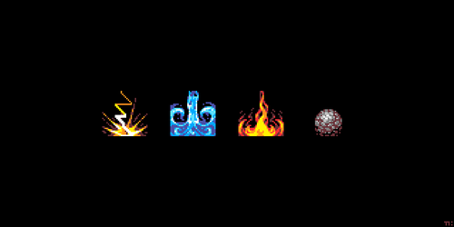 Four Elements by ThKaspar
