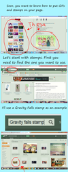 How to add stamp to your Deviantart page by MagicalPonygirl