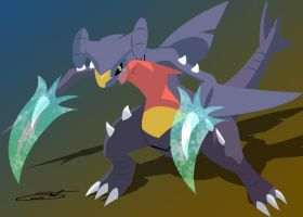 Garchomp Dragon Claw by LightDragon87