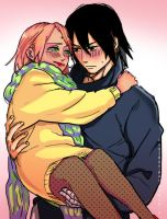 Sasusaku again by Hakupix