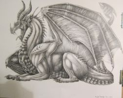 Finished New Drawing by SilvaDragoness