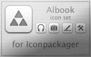 Albook Iconset by Benijamino