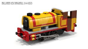 Lego Bill/Ben  (Bagnall 0-4-0ST) by ScotNick