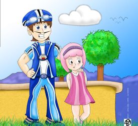 Welcome to Lazytown by deep4t