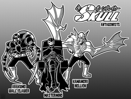 The Skull Antagonists by MichaelJLarson