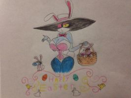 Happy Easter from Mrs. Dark  by nathandlneumann