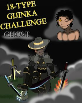 18-Type Gijinka Challenge: Ghost by Zeronos12