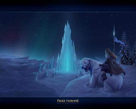 At the Heart of Winter by Deligaris