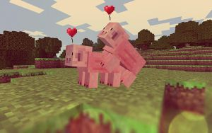 The Love Mode of Minecraft by Schulerr