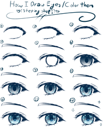 ~Drawing Tutorial~ Female Anime Eyes by Xx-Anime-UT-Trash-xX