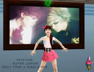 Painting Suju ver Sexy Free and Single by RainboWxMikA