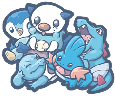 Water Starters by AudGreen