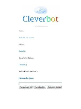 ILY, Cleverbot, ILY by anime-rulezzz