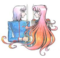 Ice and fire by Utena-Lina