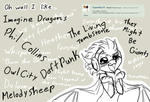 Question 5: Favorite Song(s) by CoffeeAddictedDragon