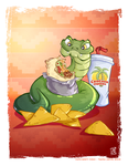 SSSuper Burrito SSSnake by WaffleJuey