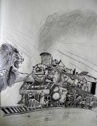 Running Wild Locomotive by Tigrex-noir