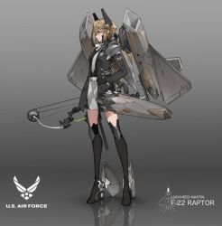 Jetgirls : F22 by dishwasher1910