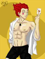Casual Hisoka by sailorharmony2000