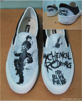 My Chemical Romance Shoes by myksmoto