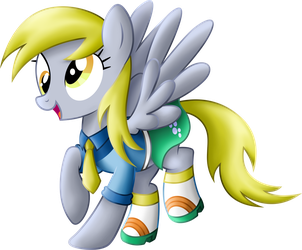 Derpy Equestria Girls Casual clothes. by BeamSaber