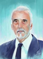 Christopher Lee: Legend by LaurenceAndrewPage
