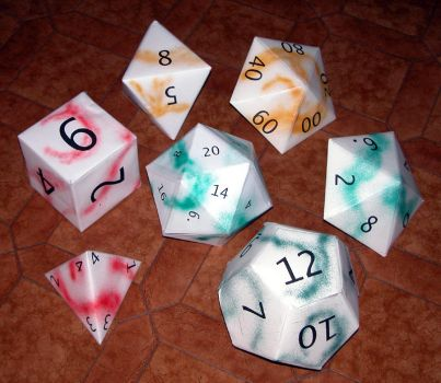 Dice Favourites By Boonicole On Deviantart