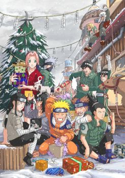 Naruto: Christmas by Risachantag