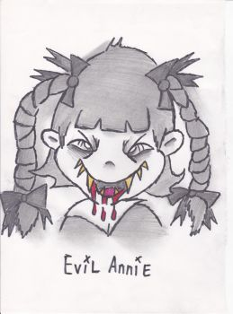 Evil Annie by skull81