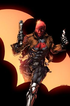 Red Hood - Logicfun d70mmxk by SpiderGuile