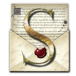 Steampunk S Open Envelope Icon by yereverluvinuncleber