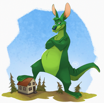 Houseguest by Greevixor
