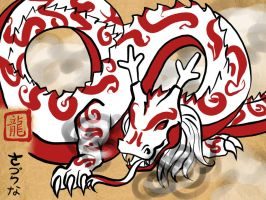 Okami - Year of the Dragon by secretsheik