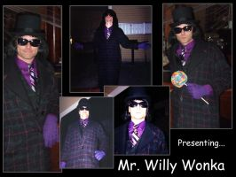 Presenting...Mr. Willy Wonka by fromthemargin