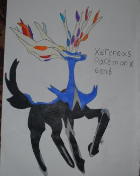 Xereneas Pokemon X by sonicmaker1999