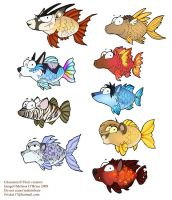 Fish Icons - Gift Batch 2 by frisket17