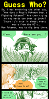 Pokemon: Guess Who by AmukaUroy