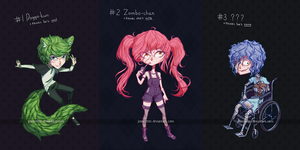 [ENDED] Adoptable Raffle ~Free Batch #1~ by Jinnerotto