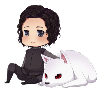 Jon Snow by ichan-again