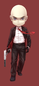 agent 47 by yibingling