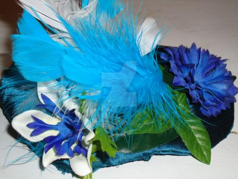 Satin Fascinator Front by ShadowReaper111