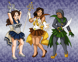 Sailors of the Book by ErinPtah