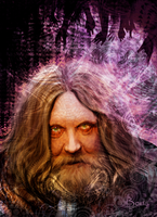 Alan Moore by Beus-B