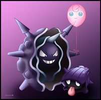 Shellder and Cloyster